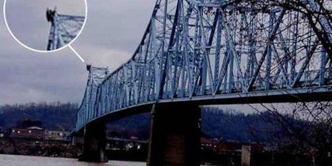 Mysterious 'Mothman' Captured On Camera In West Virginia — Your News Wire