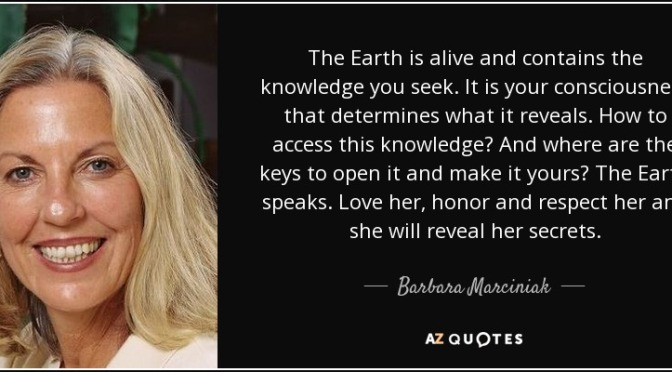 BARBARA MARCINIAK   –   DECEMBER 2016   – TIME MYSTERY — Space for the Higher Self