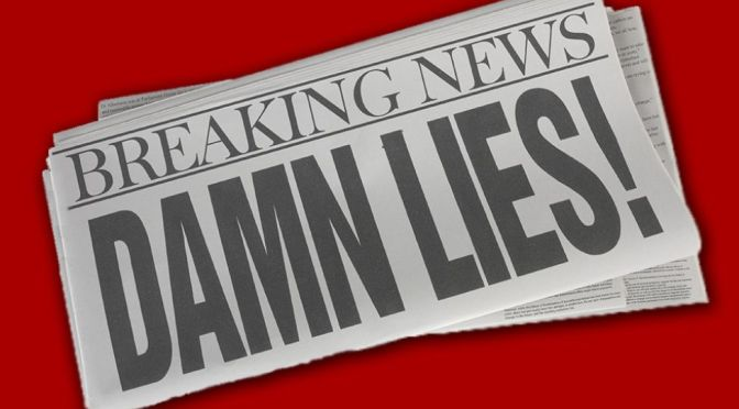 "Death Rattle of Mainstream Media: Multiple Corporate Outlets Now Labeling Each Other ""Fake News"""