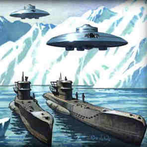 "Antarctica, global warming reveals a huge structure similar to an ""ANCIENT FACE"" Antartica-ufo"