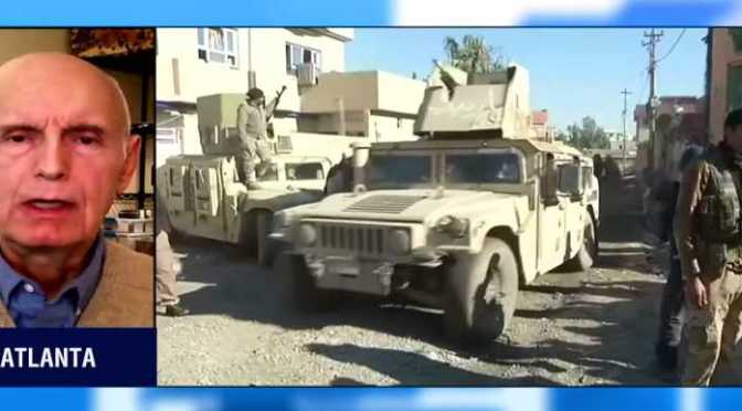 Iraqi forces reach Tigris river for first time