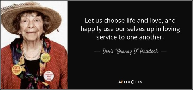 I CHOOSE A LIFE OF SERVICE! Is The Event' happening on 14Jan17 – The Signs Are There