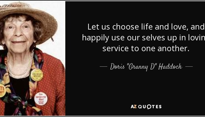 I CHOOSE A LIFE OF SERVICE! Is The Event' happening on 14Jan17 – The Signs AreThere