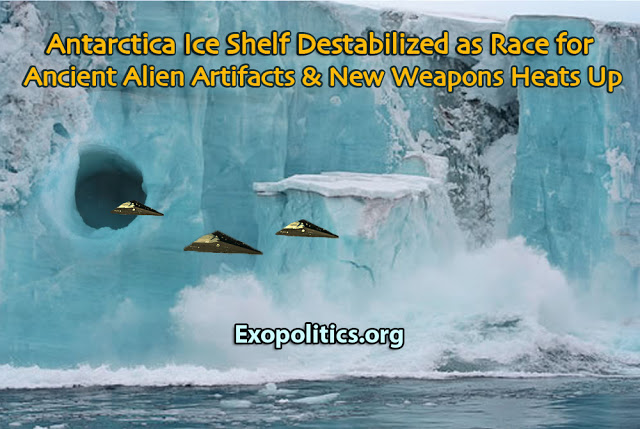 Corey Goode Update: Antarctic Ice Shelf Destabilized as Race for Ancient Alien Artifacts & New Weapons Heats Up | Stillness in the Storm