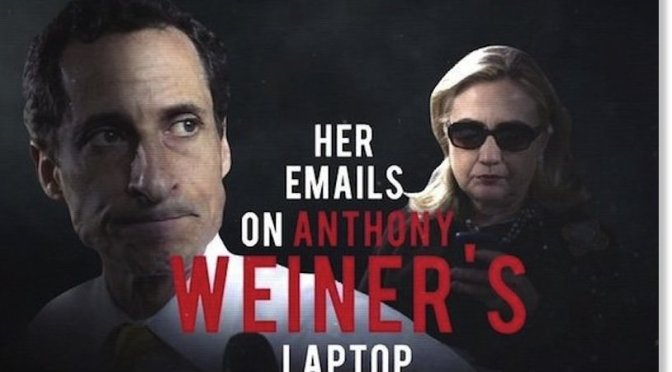 "Breaking: ""The File Has Enough Names to Leave DC a Ghost Town or a Supermax Prison"" – New Weiner Leaks Have Begun"