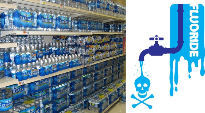 Your Bottled Water is Filled With Fluoride! Learn What Brands to Avoid! – Prepare for Change