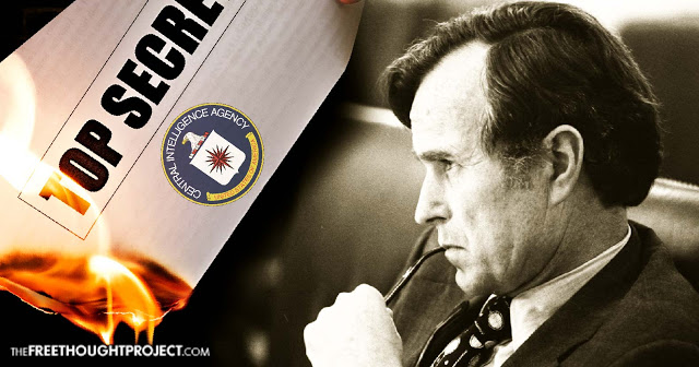 New Docs Expose Bush Sr. Illegally Destroying Evidence of US Crimes While Head of CIA