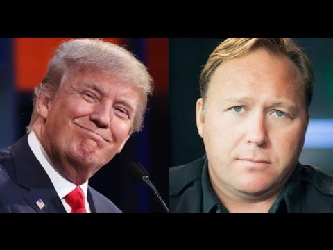 Alex Jones: Donald Trump to Reveal Globalist Secrets of Life Extension and Disease Cures