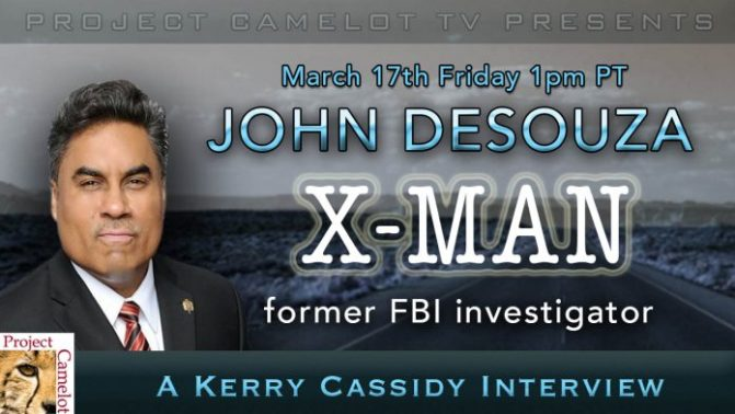 John Desouza – X-Man – Former FBI Agent – Interview – PROJECT CAMELOT PORTAL