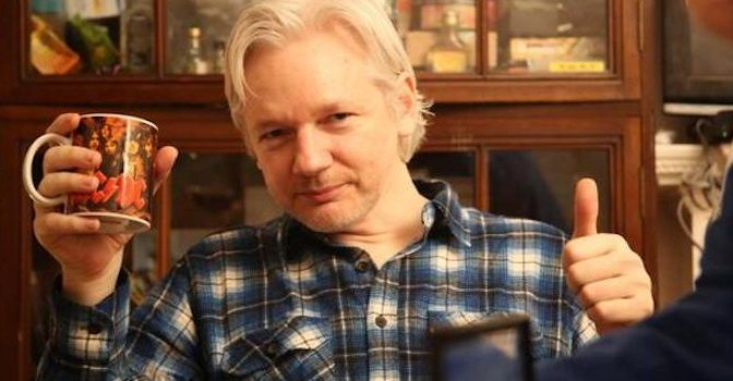 Julian Assange Proudly Declares Himself A 'Deplorable' – Your News Wire