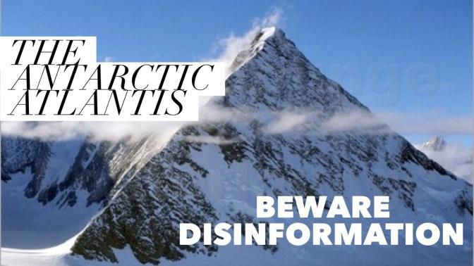 David Wilcock's New Data Dump – Antarctica is Atlantis – Beware of Disinformation!