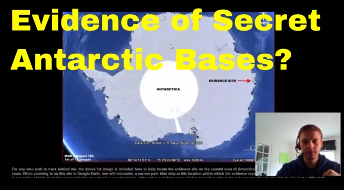 Antarctic History – Operation Highjump – Satellite Evidence of Secret Nazi Bases?