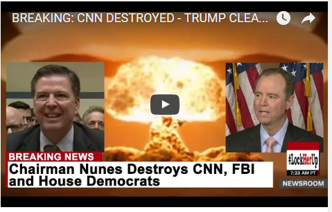BREAKING: CNN DESTROYED – TRUMP CLEARED BY HOUSE SELECT INTELLIGENCE COMMITTEE VIDEO