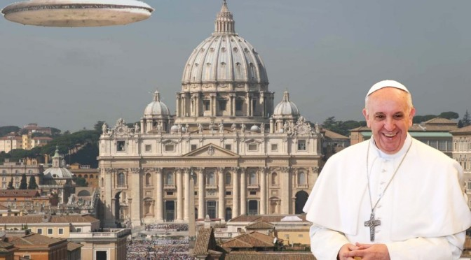 Will There Be ET Disclosure? The Pope, ET's, the Brookings Report, Cydonia and Giza