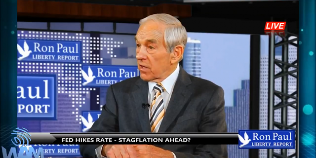 Ron Paul Predicts Inflationary Depression, Stagflation and Dollar Crash | Stillness in the Storm