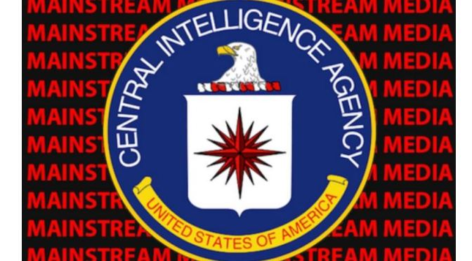 American Corporate MSM Is Merged With CIA And Has Been Since The 1950s – Prepare for Change