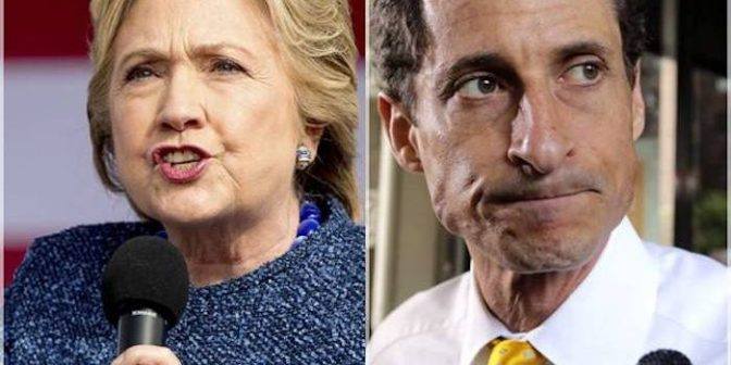 FBI: New Evidence From Anthony Weiner Will See Clinton 'Locked Up For Life' – Your News Wire