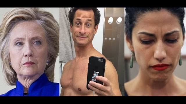 Big-Big! Anthony Weiner Placed in Protective Custody: Will Turn State's Evidence Against Hillary!