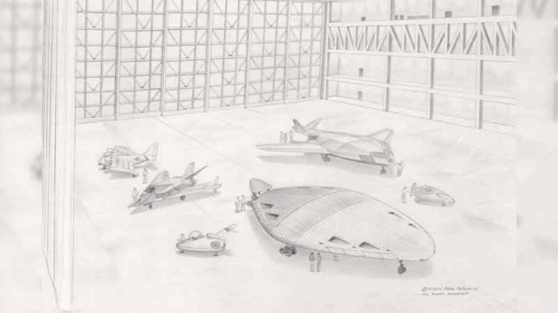2 Air Show Sketch