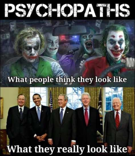 evil clown presidents