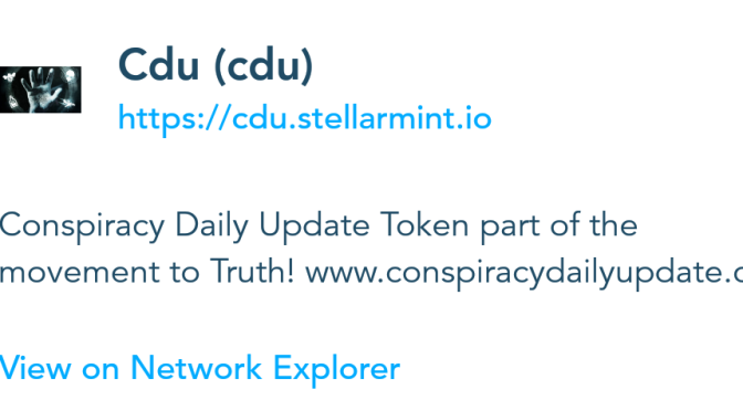 UPDATED: cdu token released! Celebrating 5 years of truthing & 10 million views!!